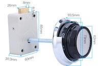 Free Shipping!Safe Deposit Box Lock ATM machine Safety Lock
