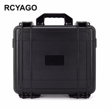 RUYAGO DJI Spark Explosion Proof Field Black Aluminum Laborious Shell Storage Field New Itemizing Drone Suitcase for dji spark drone case