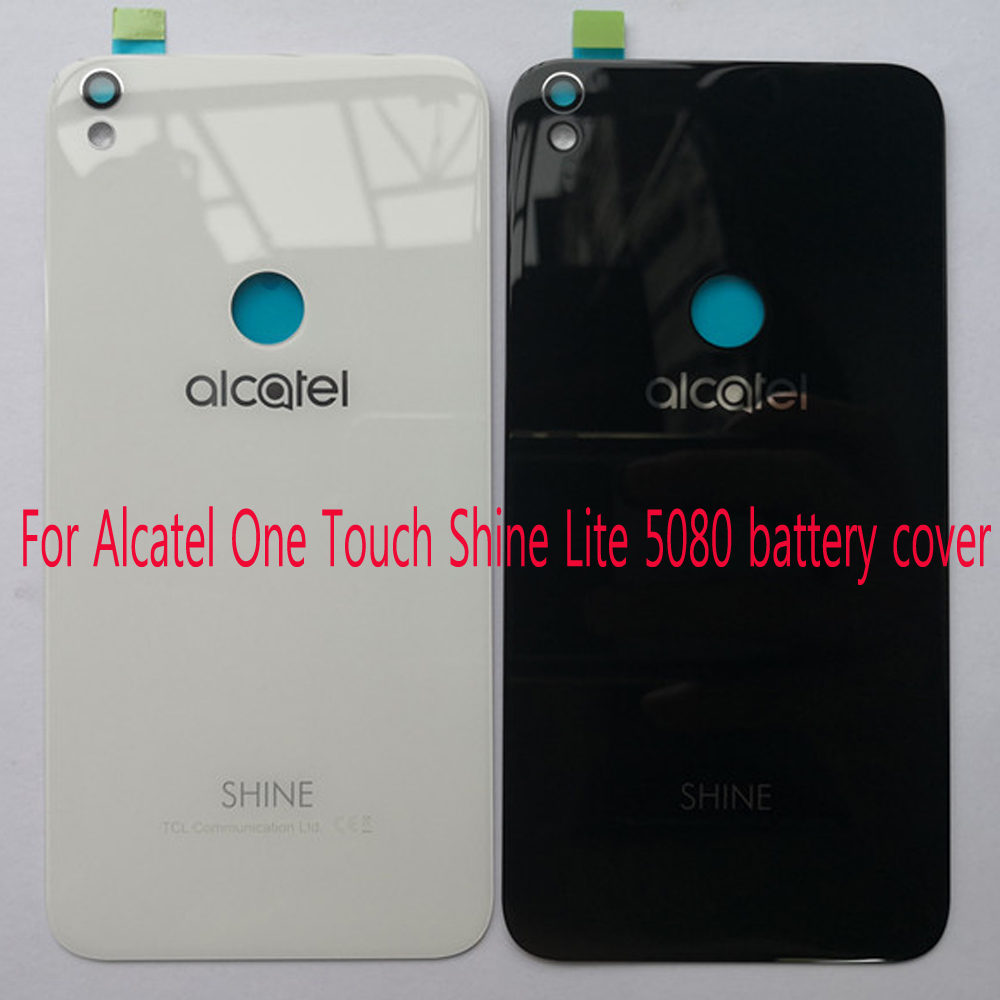 Original For Alcatel One Touch Shine Lite 5080 5080X 5080A 5080U 5080F 5080Q 5080D glass Battery Cover Housing Replacement PartsOriginal For Alcatel One Touch Shine Lite 5080 5080X 5080A 5080U 5080F 5080Q 5080D glass Battery Cover Housing Replacement Parts