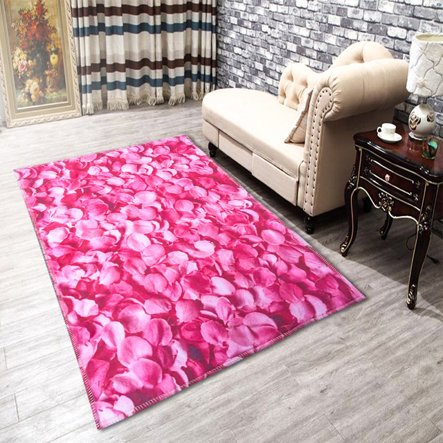 3D Plant Flower Series Carpets For Living Room Home Bedroom Rugs And ...