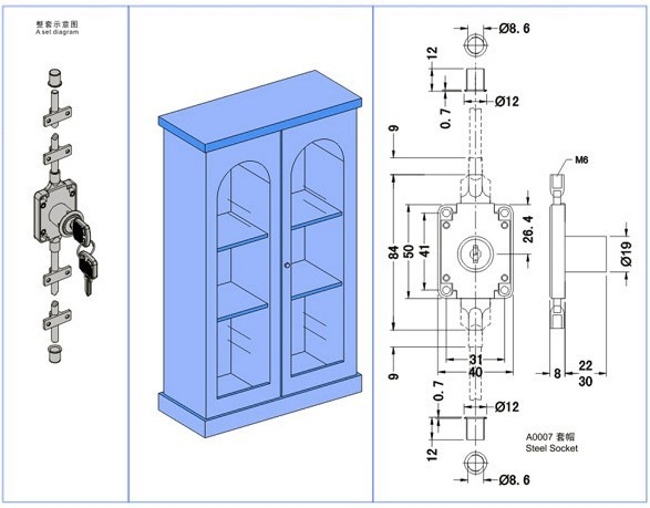 Open Closet Door Drawing lock deadbolt picture - more detailed picture about fu melody