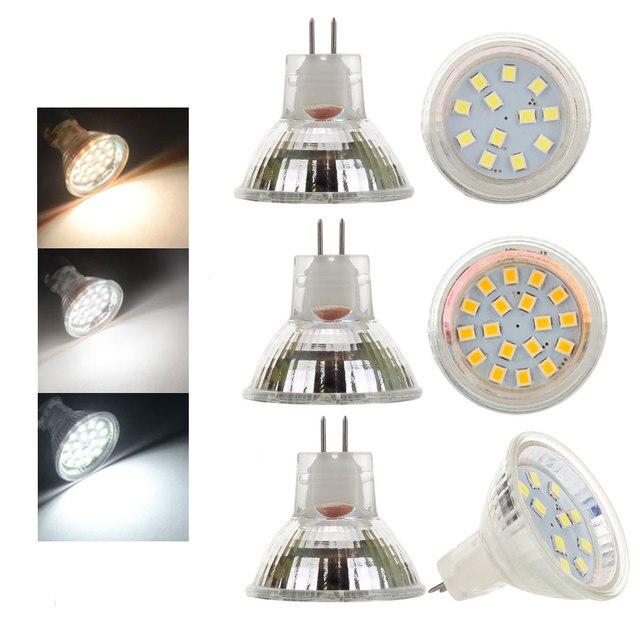 MR11 מנורת הנורה DC 12 V 24 V 2 W 3 W 2835 SMD Led זרקור אורות להחליף 15 W 20 W הלוגן זרקור חם/Nautral/קר לבן