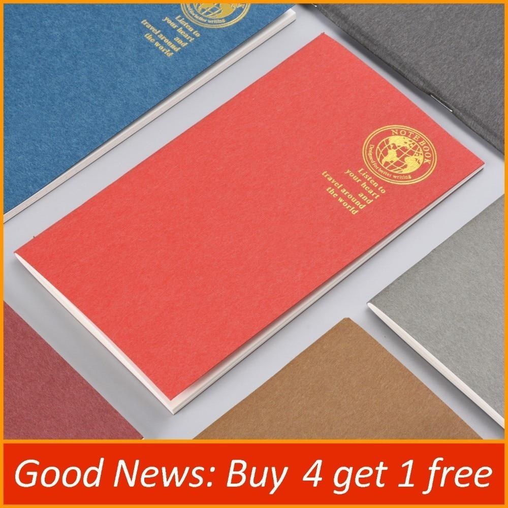 Bőr Notebook Refill Insert for Travel Journal Napirend útlevél - Jegyzettömbök és füzetek