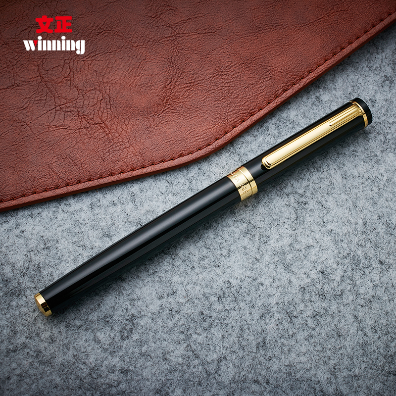 High-end Winning 598 Roller Ball Pen with Gift Box Silver and Gold Clip 0.5mm Sign Pens The Best Gift for Business and Student