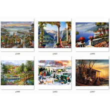 rural diamond painting full square 5d pictures with rhinestones