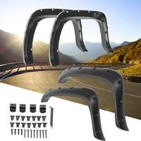 Car Front +Rear wheel For Fender Flares For Dodge Ram 1994 2002 1500 2500 3500 For Pocket Rivet Wheel Arch