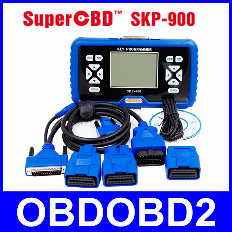 Best Quality SuperOBD SKP900 SKP 900 Auto Key Programmer Original SKP-900 Lifetime Free Update DHL Free Shipping