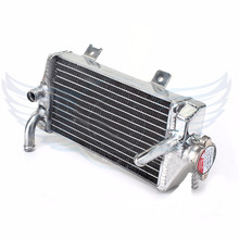 new style Motorcycle Parts aluminum Replacement Grille Guard Cooling Cooler Radiator Left Moto for Honda CRF250R CRF 250 R 2014
