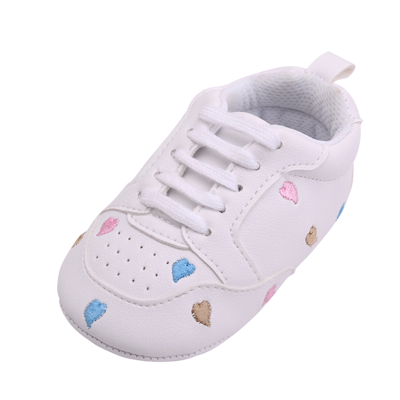 New Born Baby Walker Girl Toddler Boy Shoes Pretty Love&Star Pattern Comfortable Sole Crib Boy Girl PU Leather Casual Moccasin fashion baby flats tassel soft sole cow leather shoes infant boy girl flats toddler moccasin 17mar20
