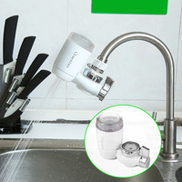 Tap Water Filter Water Purifier Faucet Kitchen Faucets White Ceramic Filter Purified Water Faucet Qwater JTP