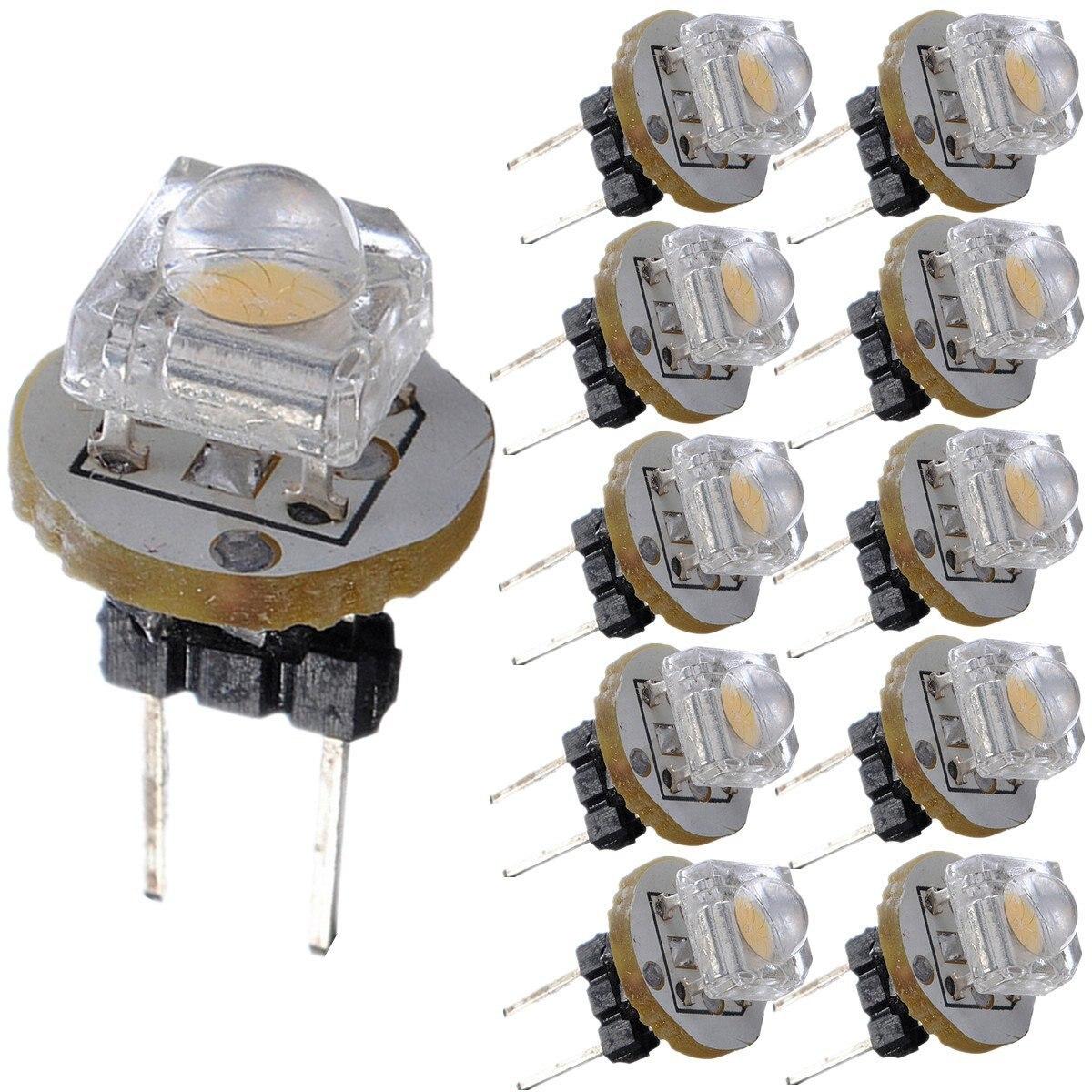 10 х g 4 <font><b>LED</b></font> SMD 0.2 Вт <font><b>12</b></font> В светодиодные лампы теплый белый свет для чтения на колесах Camper Лодка лампа