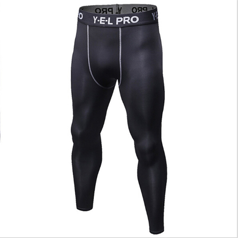 Leggings Trousers Pants Running-Training Tights Sports Gym Men 1010 Muscle-Sweat-Wicking
