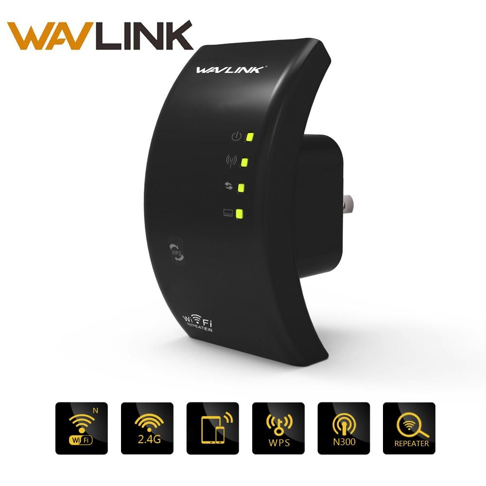 Wavlink N300 D'origine Wi fi Répéteur 300 Mbps Mini Sans Fil N Routeur Wifi Répéteur Long Range Extender Booster UK US UA UE Plug