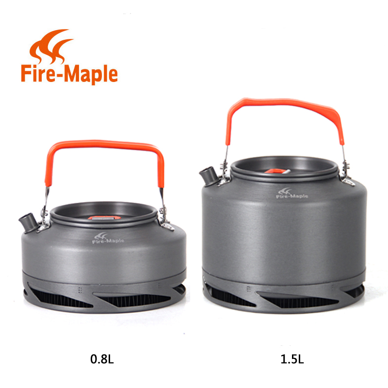 лучшая цена FMC-XT1 FMC-XT2 Heat Exchanger Collector Pot Camping Kettle Teapot Picnic Travel Hiking Fire Maple Camping Kettle
