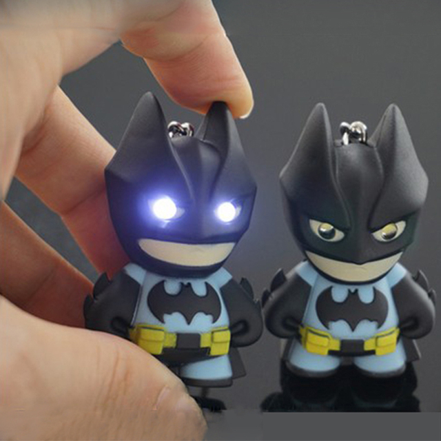 Batman Flashlight Keychain