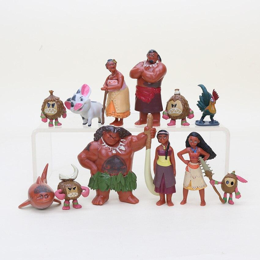 Toys For Romance : Pcs moana princess action toy figures marine romance