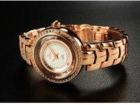 W180814 новый швейцария Для женщин часы Роскошные модные кварцевые Для женщин часы Водонепроницаемость круглые часы