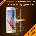 0.26mm Tempered Glass For Samsung Galaxy S6 / S6 edge 2.5D ARC round Anti-Explosion HD Screen Protector for Galaxy G9250 G9200