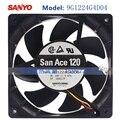 San Ace 120 9G1224G4D04 120 мм 12025 120*120*25 мм вентилятор шасси с 24V 0.47A 3PIN