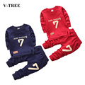 2-Piece Baby Boy Clothing Sets For new year baby boy clothes Spring fall baby outfit baby tracksuit for boy kids sports clothes