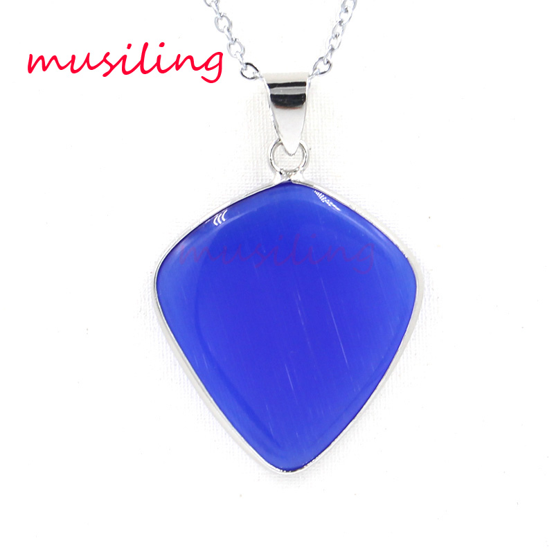 Arrow Natural Stone Pendants Necklace Chain Reiki Pendulum Accessories Charms Wicca Witch Amulet Jewelry For Women 1pcs in Pendants from Jewelry Accessories
