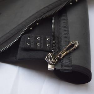 Image 3 - דוגמנות רצועת רוכסן מותניים מאמן מחוך לטקס מותניים cincher underbust גוף shapewear נשים הרזיה נדן אבנט fajas