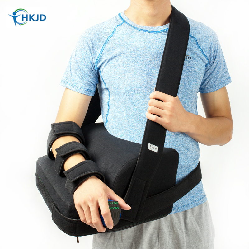 Medical Shoulder Support & Brace Strap Orthosis For Subluxation Stroke Hemiplegia Recovery Dislocation Right left shoulder jorzilano medical shoulder abduction orthosis shoulder joint surgery brachial plexus patients fixation of shoulder dislocation