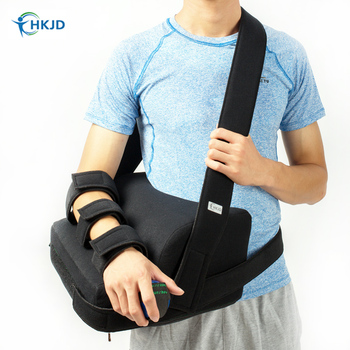 Medical Shoulder Support & Brace Strap Orthosis For Subluxation Stroke Hemiplegia Recovery Dislocation Right left shoulder image