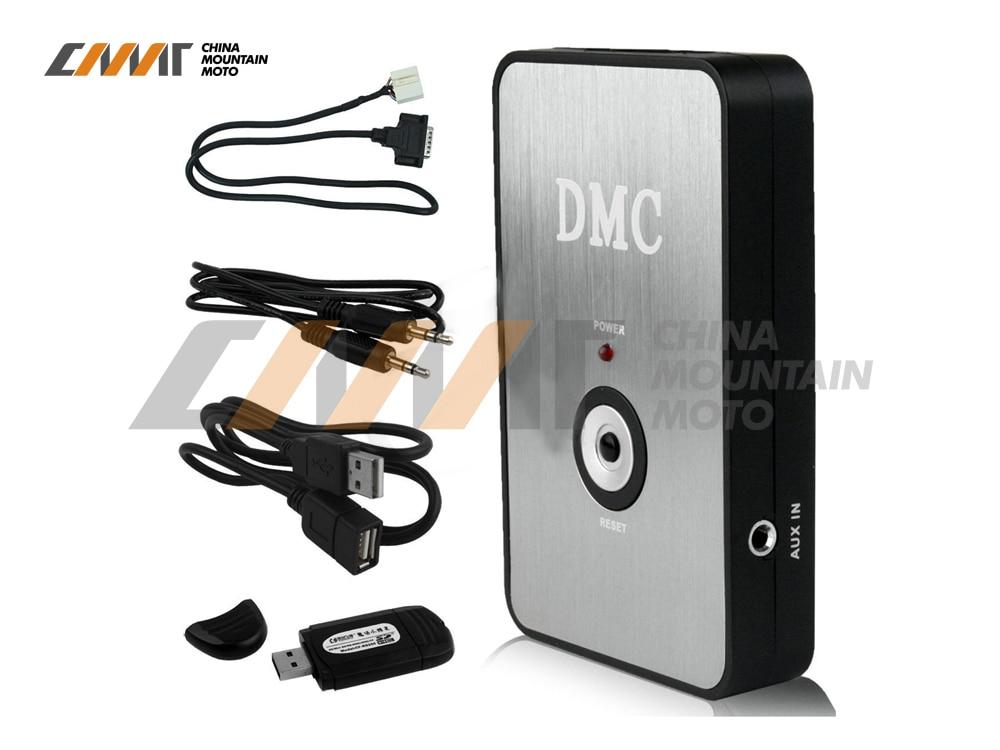 Nouveau lecteur de musique numérique CD MP3 changeur boîtier pour Honda Goldwing GL1800 2001-2011 2010