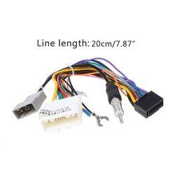 Radio Wiring Harness Adapter for Aftermarket Radio Installation BIN #7552