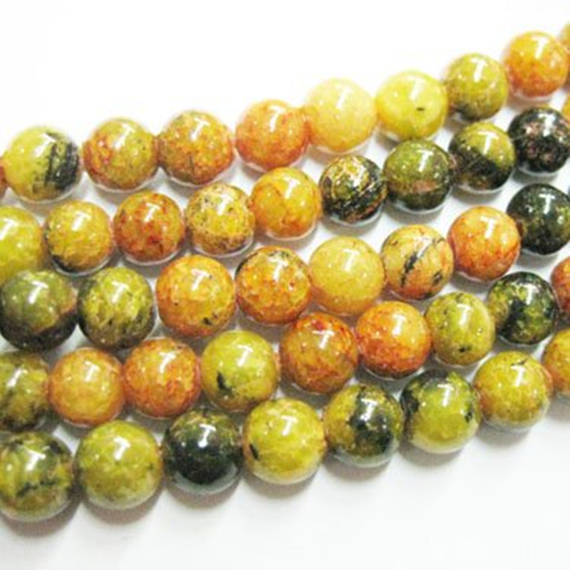 "wholesale 15/"" 8mm round yellow Tiger/'s Eye loose gemstone beads USA BY EUB"