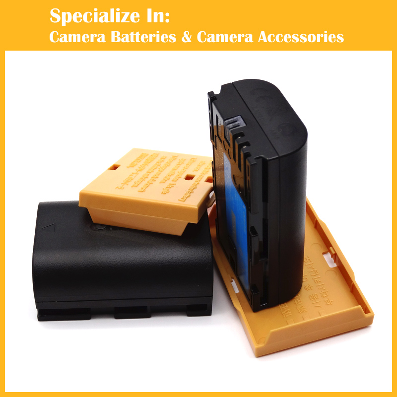 Eeyrnduy 2x LP E6 lpe6 camera Battery For Canon 5D2 5D3 7D 7D2 6D 70D 60D