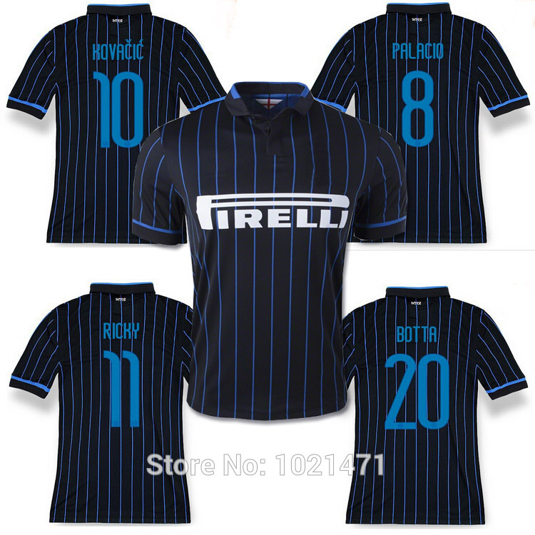 sports shoes 7ab82 1d7cb Top thai Inter Milan J.ZANETTI 4 EVER CLASSIC Jersey 2015 ...