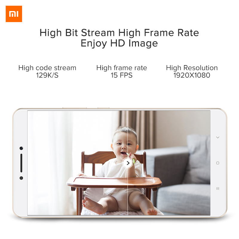 Image 3 - Original Xiaomi Mijia IP Camera Dafang Smart Monitor 120 Degree 1080p Smart Security WIFI Night Vision Camera For Mi Home App-in Surveillance Cameras from Security & Protection