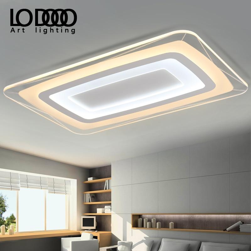 Ideal Modern Led Ceiling Lights For Living Room Study Room Bedroom Home Dec AC85-265V lamparas de techo Modern Led Ceiling Lamp