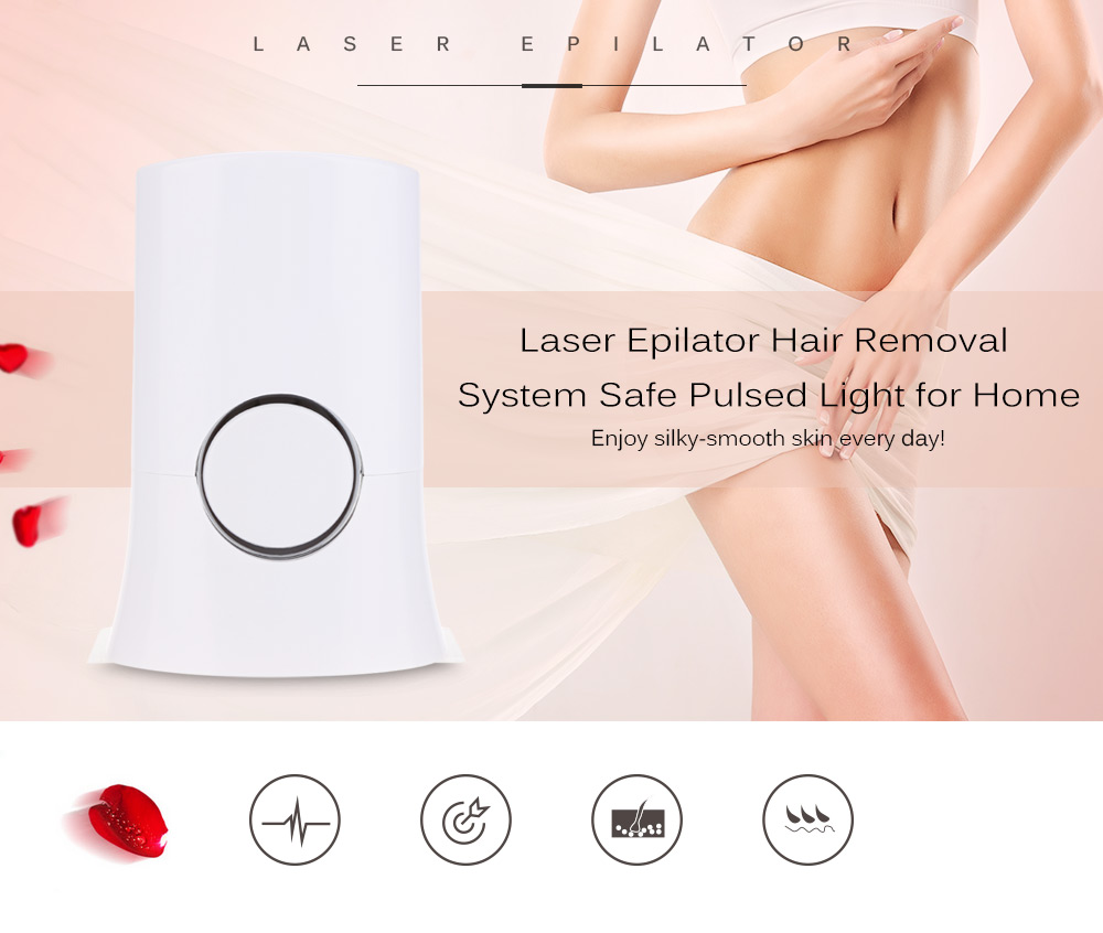 Mini Rechargeable Painless Photon Pulsed Permanent Hair Removal Laser Epilator Depilatory Depilation Home Bikini Beauty Device imported home body painless permanent laser hair removal device manufacturers of photon hair removal device 100000 times