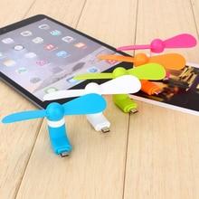 Centechia  Unbelievable Micro Portable USB Mini Fan Phone Accessory For Android Smartphone Random Color