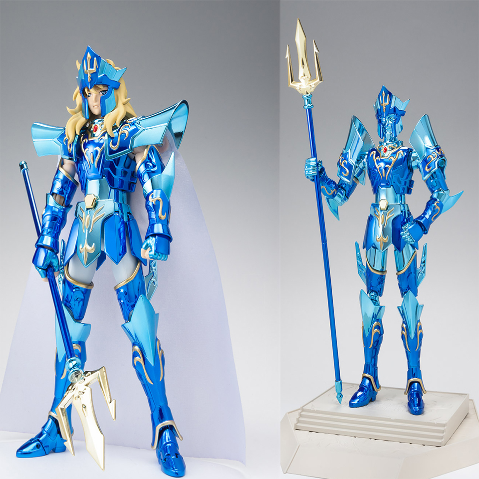 NEW In Stock Bandai Saint Seiya Saint Cloth Myth Poseidon 15th Anniversary Ver