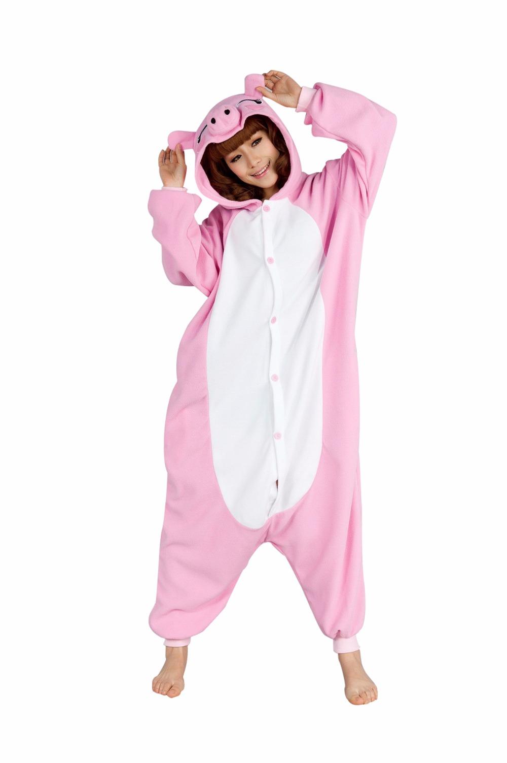 pink pig pajamas1