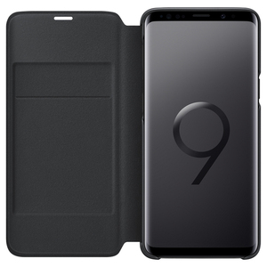 Image 4 - סמסונג המקורי LED להציג מקרה ארנק עבור Samsung Galaxy S9 G9600 S9 + S9 בתוספת G9650 חכם Flip כיסוי