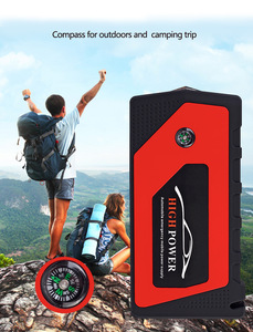 Image 2 - New Multifunction Jump Starter 69800mAh 12V 4USB 600A Portable Car Battery Booster Charger Booster Power Bank Starting Device