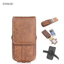EVOLOU Waist Phone Case Belt Clip Cover for For Doogee X7 Pro X5 MAX F7 T5 Lite T6 X6 SHOOT 1 2 MIX X10 X9