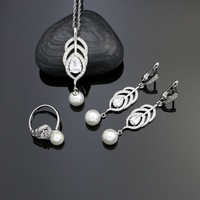 Feather-925-Silver-Wedding-Jewelry-Sets-White-Pearl-Beads-Cubic-Zirconia-For-Bride-Accessories-Earrings-Pendant.jpg_200x200