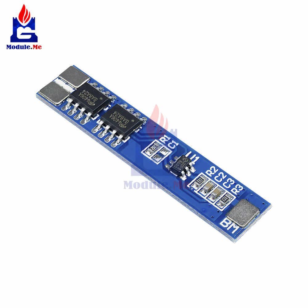 2S 5A Li-Ion Batteria Modulo di Protezione BMS PCM Li-Ion Cella Lipo Pack 18650 BMS PCM Scheda di Corto Circuito Sopra corrente di Protezione