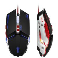 AOYEAH Wired Souris Gamer DPI Adjustable Cable USB Optical Egonormic Led Gaming Mouse For PC Computer
