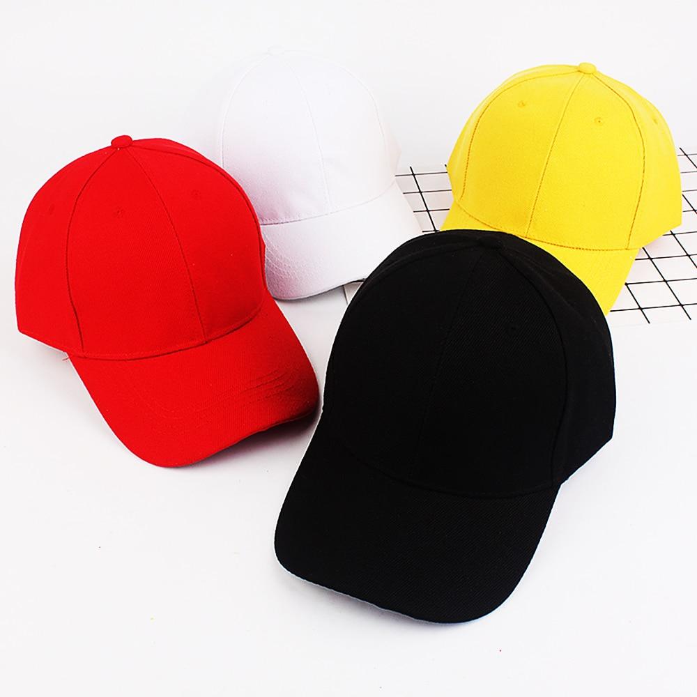Adjustable   Baseball   Hat Men Women   Baseball     Cap   Outdoor Sun Hat Black 2019 New Fashion Snapback Hat White Streetwear Hip Hop   Caps