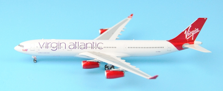 Fine Ph enix 1: 400 11175 Virgin Atlantic A340-300 G - VFAR Alloy aircraft model Collection model Holiday gifts fine special offer jc wings 1 200 xx2457 portuguese air b737 300 algarve alloy aircraft model collection model holiday gifts
