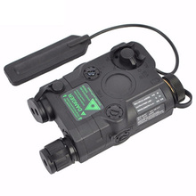 An/Peq-15 Green Dot With White Led Flashlight Torch Ir Illuminator For Hunting Outdoor цена в Москве и Питере