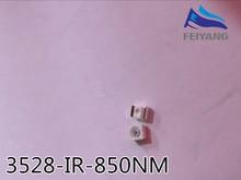 2000 Uds envío gratis 850nm IR SMD LED diodo 3528 led infrarrojos 1,4 1,5 V CCTV diodo de luz