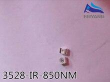 2000 stücke Freies verschiffen 850nm IR SMD LED diode 3528 Infrarot led 1,4 1,5 V CCTV licht diode